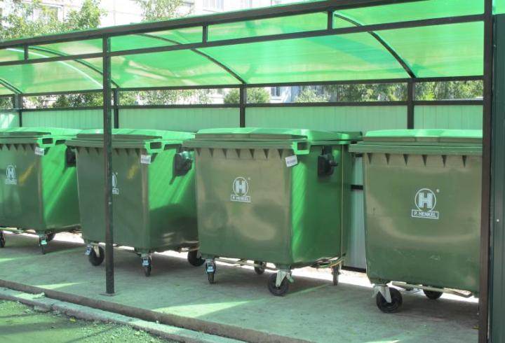 Законт о размещении контейнера на газоне